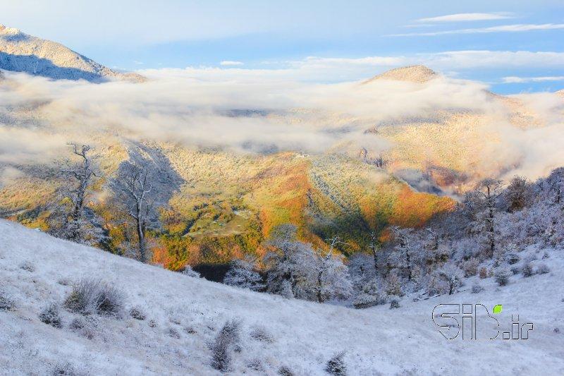 مرز بین پاییز و زمستان