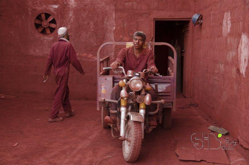 ژست و فیگور پشت موتور چهار چرخ