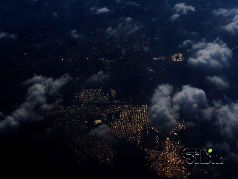 قاب عکس مدرن بدون عنوان چشم انداز  شهری اثر جیران باقری
