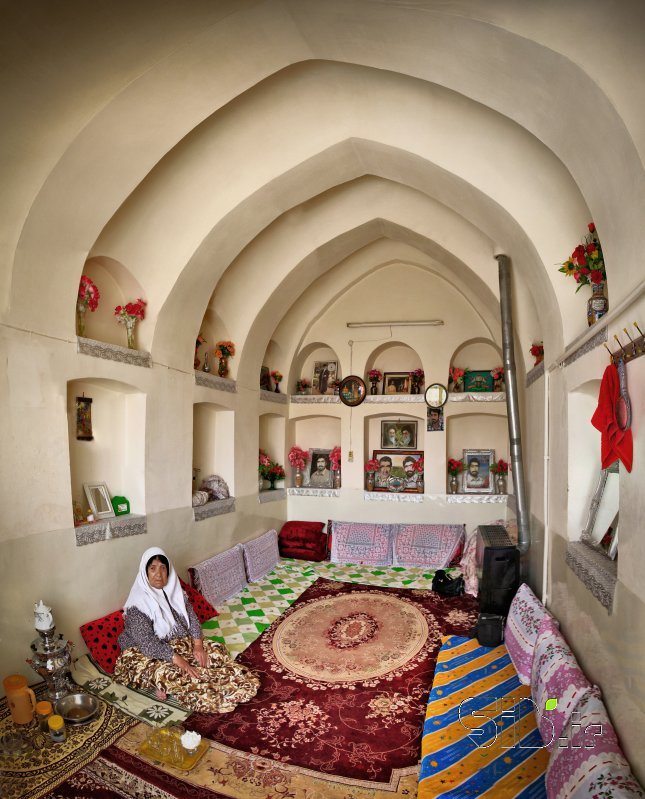 قاب عکس مدرن مادر دو شهید مستند انسانی  اثر هادی دهقان پور