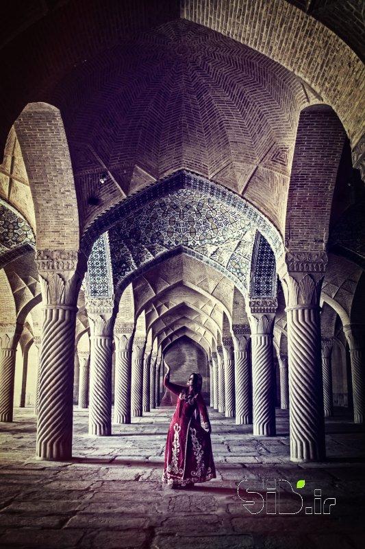قاب عکس مدرن بانوی خاک معماری سنتی / آثار باستانی اثر مریم خالقی زاده