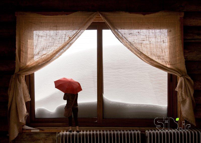 پنجره برفی