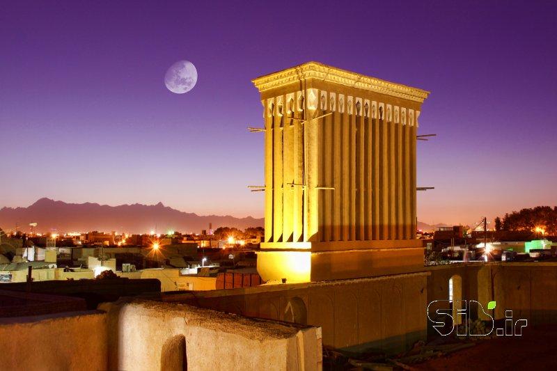 قاب عکس شهر بادگیرها چشم انداز  شهری و معماری سنتی / آثار باستانی اثر حسن الماسی