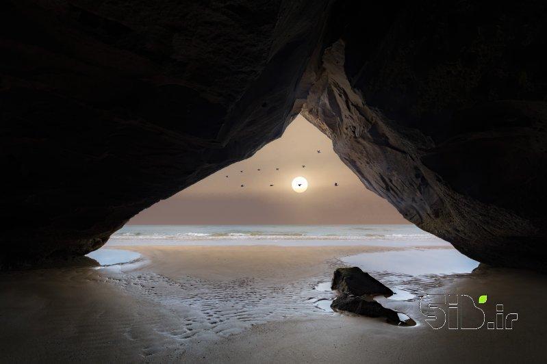 قاب عکس مدرن مثلث رویایی منظره   طبیعت / روستایی اثر بردیا سعادت