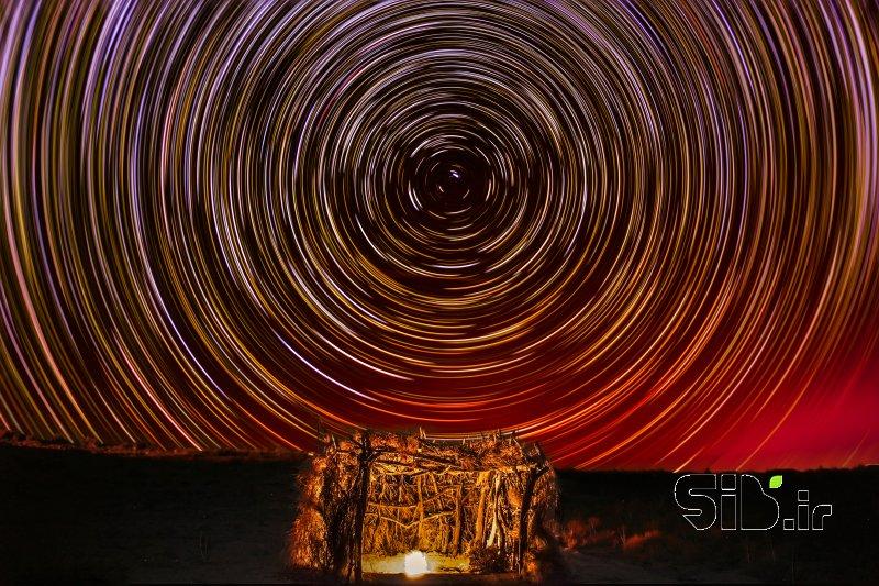 رد ستارگان در کویر