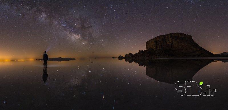 قاب عکس مدرن کهکشان منظره   طبیعت / روستایی اثر یاشار آذری