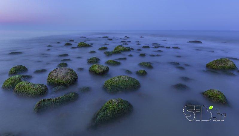 قاب عکس مدرن دریای کاسپین منظره   طبیعت / روستایی اثر احسان نیکفرجام