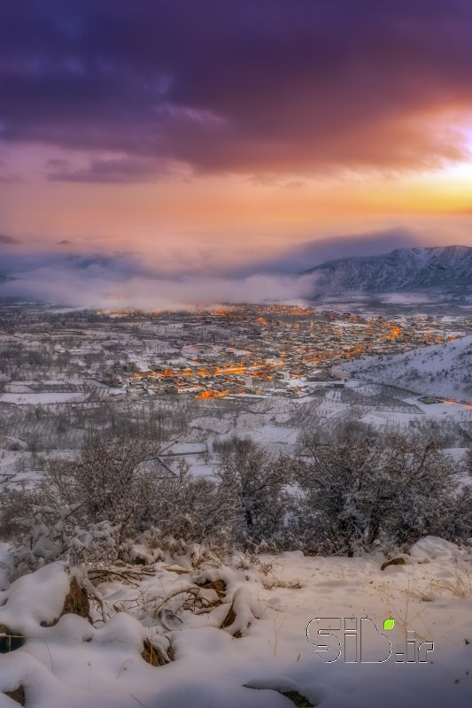 سرزمین برف و آفتاب