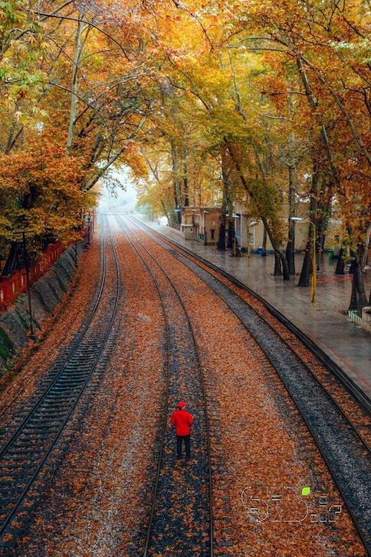 قاب عکس مدرن ایستگاه راه آهن بیشه 4 منظره   طبیعت / روستایی اثر احمد مصطفی پور