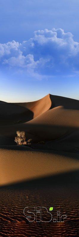 قاب عکس مدرن کویر ابری آبستره اثر محمد رضا معصومی