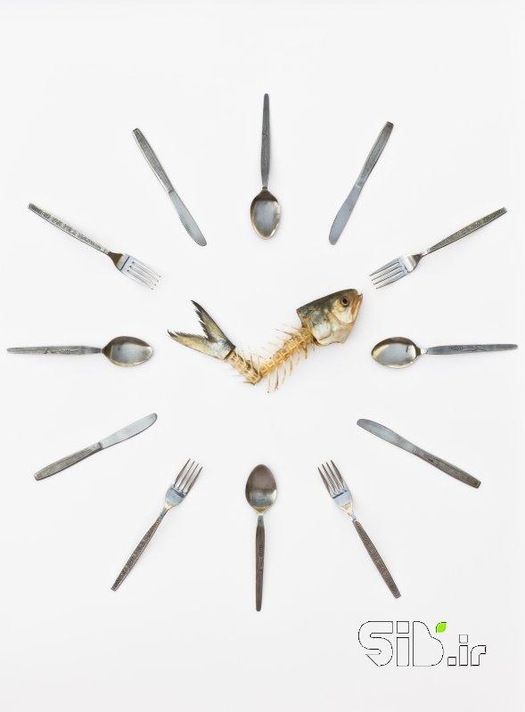 قاب عکس مدرن وقت غذا معنا گرا اثر امین روشن افشار