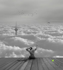 Relax in the clouds - آرامش در میان ابر ها