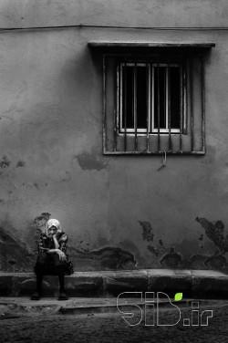 Alone Grandmother