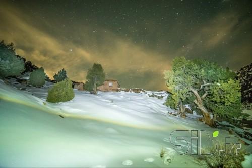 شب برفی