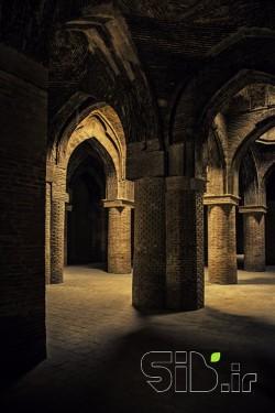شبستان مسجد جامع اصفهان