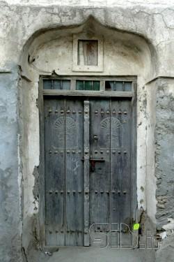 دروازه خانه بندر تاریخی لافت