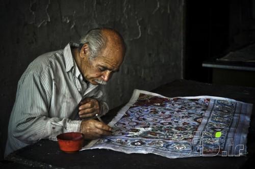 Persian Carpet Painter
