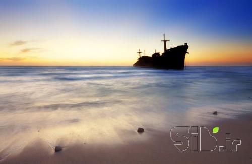 کشتی یونانی - غروب کیش